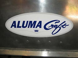 Alumacraft Boat Logos Stickers/decals For And03960and039s/70and039s Models