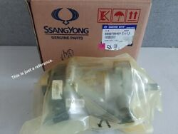 6650700101 High Pressure Fuel Injection Pump For Ssangyong Rexton Rexton W 0519