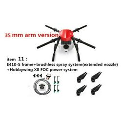 E410s Agricultural Drone 10l 4-axis Uav Frame Kit +x8 Motor W/ Spraying System