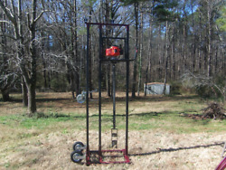 Water Well Drilling Rig, Complete Drilling System W/23' Of Rods, And Auger