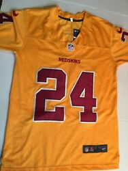 Nwt Nike Youth 2011/2012 Nfl Jersey Redskins 24 Josh Norman Youth Large/l 14-16
