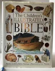 Vintage Childrens Illustrated Bible Dk Publishing Old And New Testament Stories