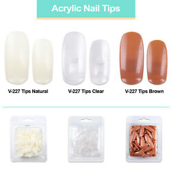 PANA USA Flexible Training Practice Hand or Acrylic Nail Tips Only