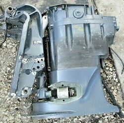 Yamaha Mid Section And Steering Bracket 67f-42510-10-4d  67f-45111-10-4d