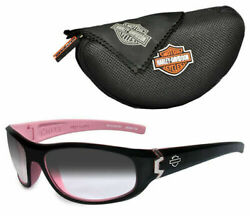 Wiley X Harley-davidson Transition / Photochromic Sunglasses Small, Black And Pink