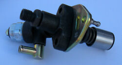 Yanmar L100ae Fuel Pump With 12v Electronic Fuel Valve Solenoid