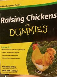 Raising Chickens For Dummies by Kimberley Willis Rob Ludlow