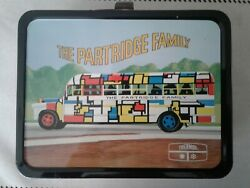 1971, The Partridge Family, Metal Lunch Box With Thermos