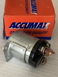 1965-1984 Harley 4 Speed Fl Flh And1967-1980 Xlh Zinc Finish Solenoid 71469-65