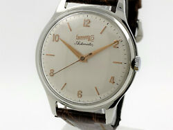 Eberhard And Co Vintage Automatic Watch Jumbo Size 37mm So337