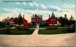 Postcard View Of The Lehigh Valley Allentown Pa