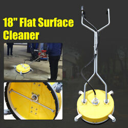 21 Flat Surface Cleaner Hot Cold Water Power Pressure Washer Concrete Driveway