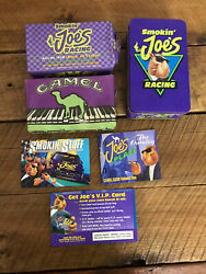 Camel Joe Cigarettes Racing Tin With Nos Matches New Collectible Advertising