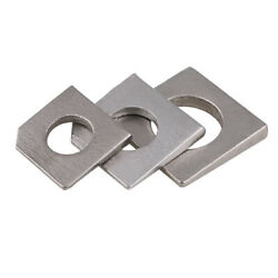 A2 304 Stainless Steel Square Bevel Washers M6 M8 M10 M12 M16 M18 M20 M27 M30
