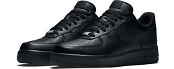 NIKE AIR FORCE 1 '07 TRIPLE BLACK 315122 001 Men's sizes 6-14 *BRAND NEW IN BOX* $109.95