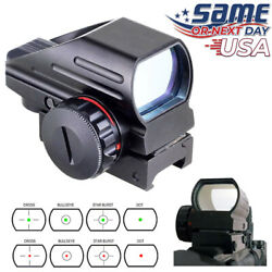 Red Green Dot Reflex Sight Scope Tactical Holographic 4 Reticles Picatinny Rail $32.38