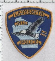 Ladysmith Police Wisconsin 2nd Issue Uniform Take-off Shoulder Patch