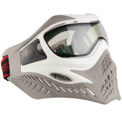 Gi Sportz V-force Grill Thermal Paintball Goggle/mask - White/taupe - New