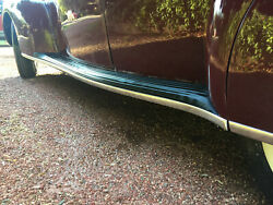 1936, 1937, 1938 Lincoln Zephyr Running Boards Complete Set, New Reproduction