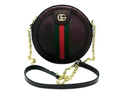 Womens Designer Gucci Ophidia mini round shoulder bag $1,301.96