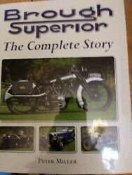 1/6 Scale Motorcycle Minichamps Brough Superior Ss100 With Book
