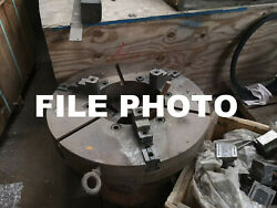 Cushman 15 4 Jaw 7 Thick Chuck Tongue And Groove 5 Thruhole A11 Used