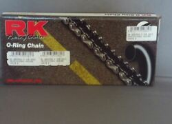 Rk Gb525ro X 120 O-ring Road Racing Motorcycle Chain Gold