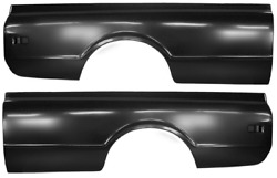 68-72 Chevy C10/k10 Truck Driver And Passenger Side Longbed 8' Bedside Pair Lh/rh