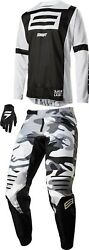 Shift Black Label G.i. Fro Combo - Jersey Pant Mx Motocross Dirt Bike Atv Gear