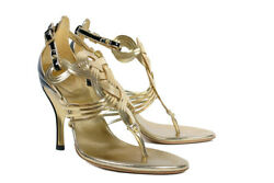 S/s 2005 Rare Vintage Gold Shoes From The Ad Campaign 38 - 8