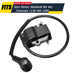 Us Ignition Coil Module For Stihl Ms441 For Magnum Ms 441 Chainsaw 1138 400