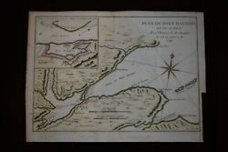Canada - Plan Du Port Dauphin  A1744 From Charlevoix