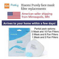 Xiaomi Purely Face Mask Filters (VARIOUS SMALLER PARTIAL PACKS)🇺🇸 USA Seller $29.99