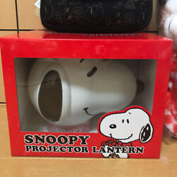 Snoopy 3 Items Set Projector Lantern Plush Blanket Cosmetic Pouch Anime Japan