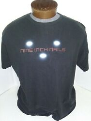 NINE INCH NAILS concert t-shirt LIGHT IN THE SKY 2008 XL $14.95