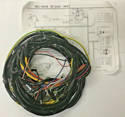 1955 Ford F100 6 Cylinder Pick Up Truck Wiring Harness-oem Specs