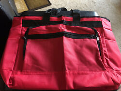 Red TOTE SCHOOL COMPUTER WORK TRAVEL BAG $16.50