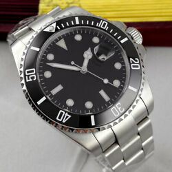Bliger Sterile Dial Sapphire Date Luminous Nh35 Automatic Movement Menand039s Watch