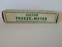 Vintage Collectible Auto Part Tool - Victor Storage Battery Tester - Orig Box