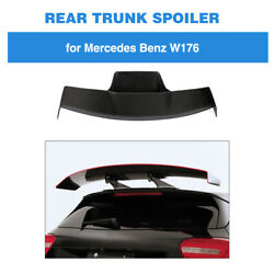For Benz W176 A250 A200 A45 Amg 13-18 Rear Roof Spoiler Trunk Wing Carbon Fiber