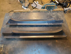 2008 09 10 11 12 13 14 15 Audi Tt Door Sill Plate Covers Left Right Free Us Ship