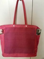 Extra Large Beach Bags Tote  XL Mesh with Pockets amp; Zipper $16.95