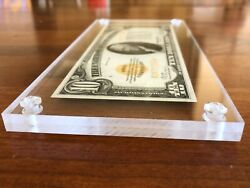 Archival Displays© Banknote Frame Money Holder Currency Case Dollar Acrylic Wow