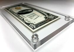 Archival Displays© Us Small Size Banknote Frame, Money Holder, Currency Case