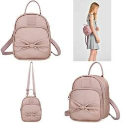 Vanna Bowknot Extra Mini Backpack Purse For Girls Women 3 Way Convertible As $43.30