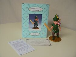 Madame Alexander Peter Pan With Tinker Bell Figurine 7 H 2000 With Sword