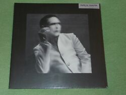 MARILYN MANSON The Pale Emperor 2LP WHITE VINYL Deluxe Edition NEW SEALED EX