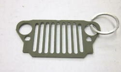 Mb Gpw Willys Ford Wwii Jeep G503 - Front Grill Keychain