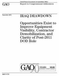 Iraq Drawdown Opportunities Exist To Improve Equipment Visibility Contrac...