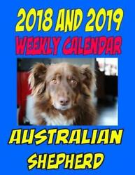 2018 And 2019 Australian Shepherd Two Year Calendar, Dog Quotes, To Do Lis...